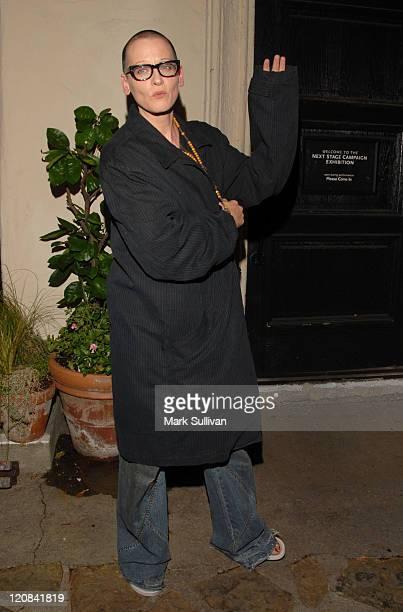 Lori Petty during Pasadena Playhouse Opening of Fences at Pasadena Playhouse in Pasadena CA United States