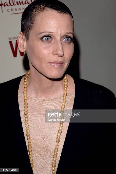 Lori Petty during Women in Film and Hallmark Channel Honor Dr Maya Angelou at Academy of Motion Picture Arts and Sciences in Hollywood California...