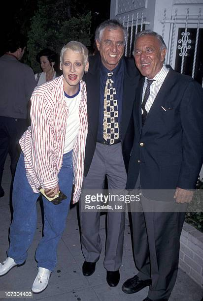 Lori Petty Garry Marshall and Jack Klugman during Penny Marshall Hosts Book Party for Garry Marshall Wake Me When It's Funny How to Break into Show...