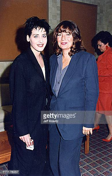 Lori Petty Penny Marshall during 1992 ShoWest in Las Vegas Nevada United States