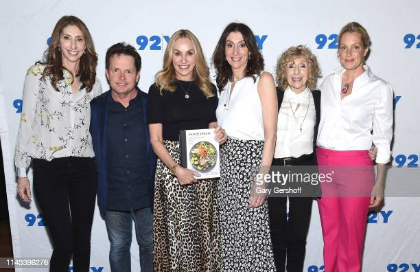 Lori Pollan Michael J Fox Tracy Pollan Dana Pollan Corky Pollan and Ali Wentworth attend The Pollan Family In Conversation With Michael J Fox And Ali...