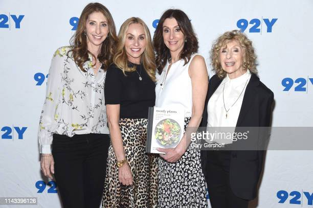 Lori Pollan Tracy Pollan Dana Pollan and Corky Pollan attend The Pollan Family In Conversation With Michael J Fox And Ali Wentworth at 92nd Street Y...