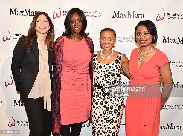 "Lori Silverbush, Monique Nelson, Sheena Wright and Tracie Strahan attend United Way of New York City's ""Power Of Women To Make A Difference"" Awards..."