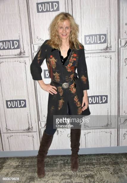 Lori Singer attend Build series to discuss God Knows Where I Am at Build Studio on March 30 2017 in New York City