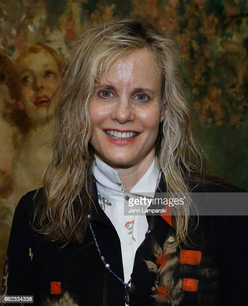 Lori Singer attends God Knows Where I Am after party at The Leopard on March 31 2017 in New York City