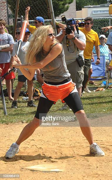 Lori Singer attends the 62nd Annual Artist and Writers Charity Softball Game at Herrick Park on August 14 2010 in East Hampton New York