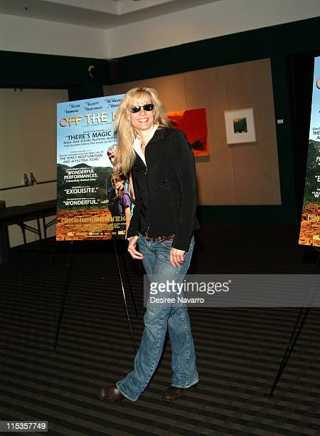 Lori Singer during Off The Map New York Premiere at Lincoln Center's Walter Reade Theater in New York City New York United States