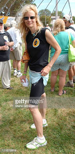 Lori Singer during The 58th Annual Artists and Writers Benefit Softball Game at Herrick Park in East Hampton New York United States