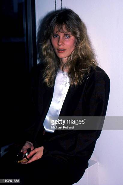 Lori Singer from Fame portrait London 1987