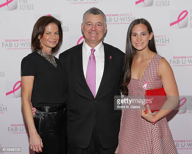 Lori Tritsch William Lauder and Alex Tritsch attend The Pink Agenda's 2016 Gala held at Three Sixty on October 13 2016 in New York City