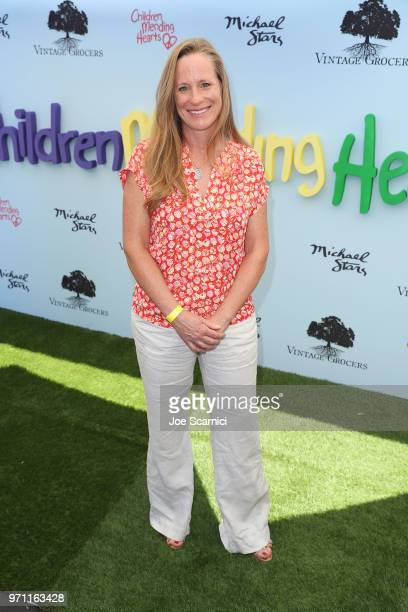 Lori Woodley attends the Children Mending Hearts' 10th Annual Empathy Rocks Fundraiser at Private Residence on June 10 2018 in Bel Air California