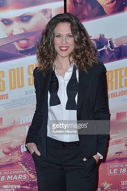 Lorie attends 'Les Portes Du Soleil L'Algerie Pour Toujours' Paris Premiere at Le Grand Rex on March 10 2015 in Paris France