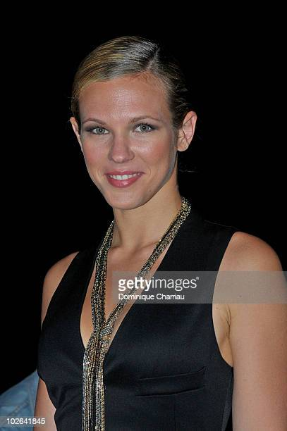 Lorie attends the Stephane Rolland show as part of the Paris Haute Couture Fashion Week Fall/Winter 2011 at Palais de Chaillot on July 6 2010 in...