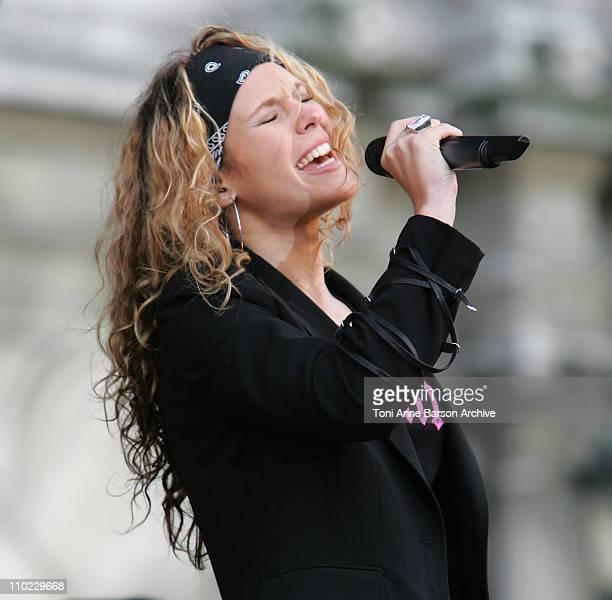 Lorie during Concert pour le Don de Plaquettes to Benefit LauretteFugainorg a Concert Against Leucemia at City Hall in Paris France