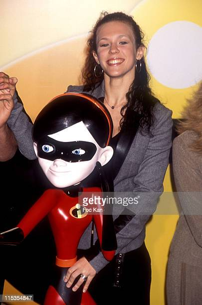 Lorie during 'The Incredibles' Paris Premiere at Grand Rex in Paris France