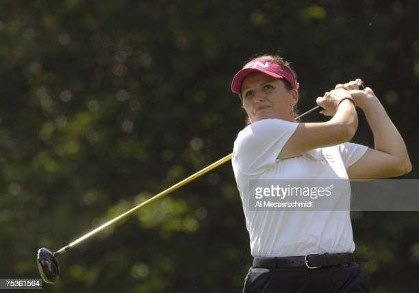 Lorie Kane during the first round of the LPGA Michelob ULTRA Open at Kingsmill at Kingsmill Resort and Spa in Williamsburg Virginia on May 10 2007