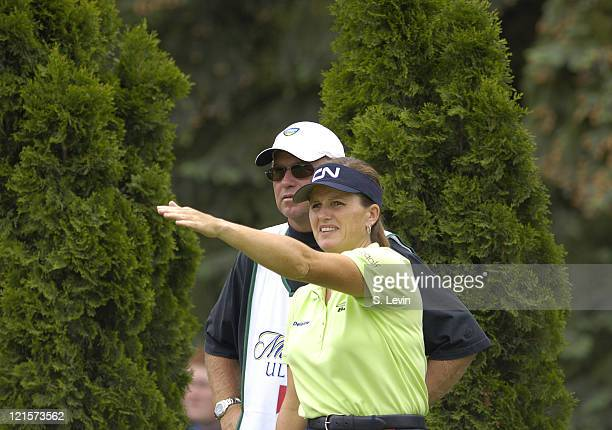Lorie Kane during the second round of the 2006 Corning Classic at the Corning Country Club in Corning NY on Friday May 26 2006