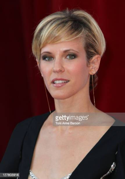 Lorie Pester arrives at the 51st Monte Carlo TV Festival Opening Ceremony on June 6 2011 in Monaco Monaco