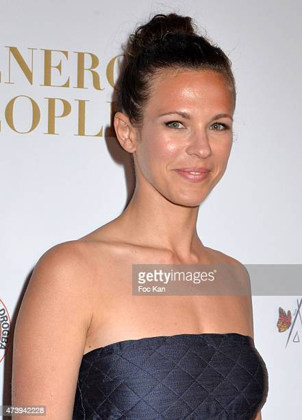 Lorie Pester attends The Heart Fund The 68th Annual Cannes Film Festival at Carlton Hotel on May 18 2015 in Cannes France