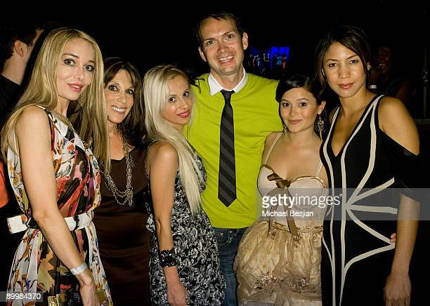 """Lorielle New, Kate Linder, Sabrina Parisi, Michael Dean Shelton, Romi Dames and guest attend the FIDM Screening Of """"Project Runway"""" at the Provecho..."""