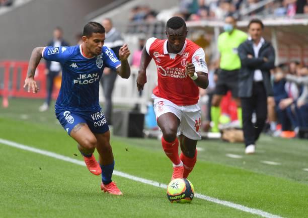 FRA: Stade de Reims v FC Lorient - Ligue 1 Uber Eats