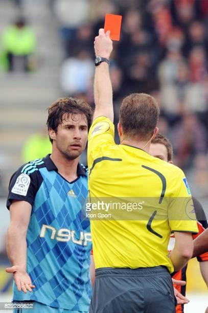 Lorik CANA / Olivier THUAL Lorient / Marseille 32 eme journee de Ligue 2 Stade Yves Allainmat Lorient