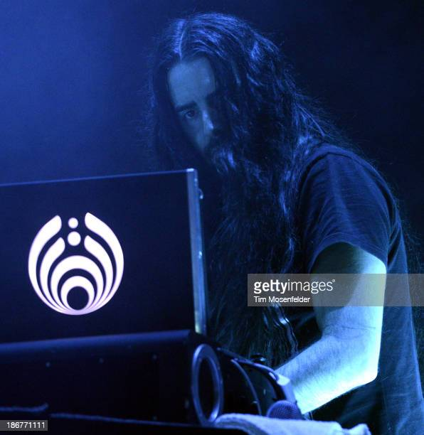 Lorin Ashton aka Bassnectar performs as part of the 2013 Voodoo Music Experience at City Park on November 3 2013 in New Orleans Louisiana