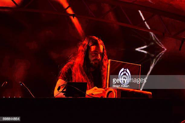 Lorin Ashton aka DJ Bassnectar performs during Day 1 of Electric Zoo at Randall's Island on September 2 2016 in New York City