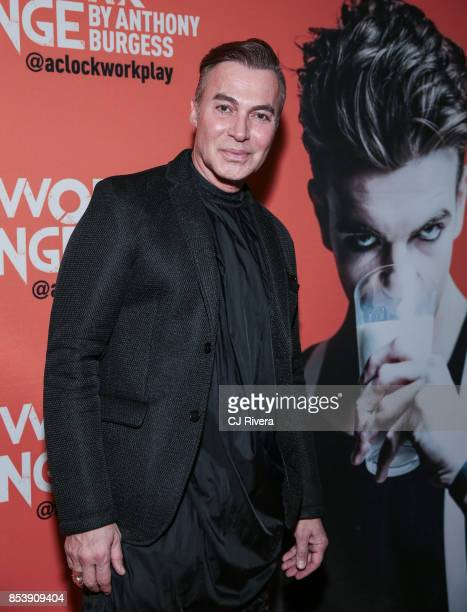 Loris Diran attends the OffBroadway opening night of 'A Clockwork Orange' at New World Stages on September 25 2017 in New York City