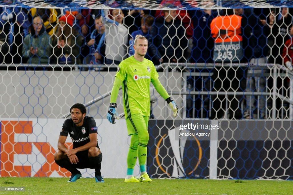 Slovan Bratislava - Besiktas : UEFA Europa League : Foto jornalística