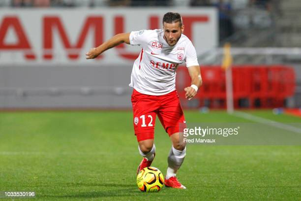 Loris Nery of Nancy during the French Ligue 2 match between Nancy and Le Havre on September 14 2018 in Nancy France