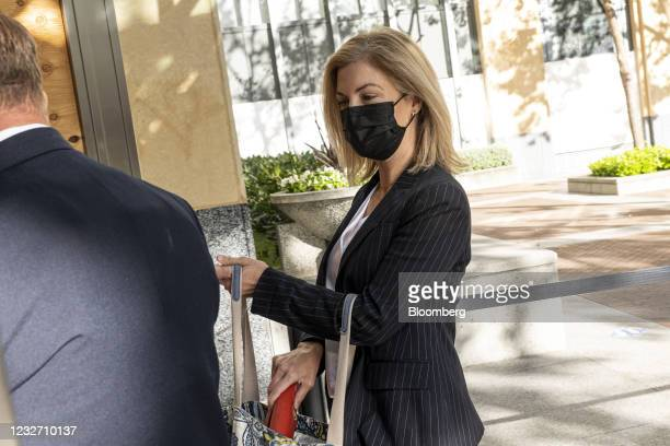 LoriWright, vice president of Xbox business development atMicrosoft Corp., enters U.S. District court in Oakland, California, U.S., on Wednesday,...