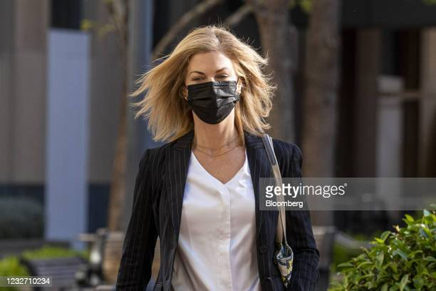 LoriWright, vice president of Xbox business development atMicrosoft Corp., arrives at U.S. District court in Oakland, California, U.S., on...