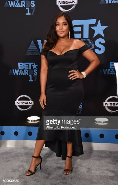 Lorna Baez at the 2017 BET Awards at Microsoft Square on June 25 2017 in Los Angeles California