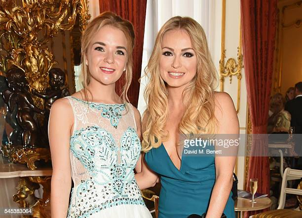 Lorna Fitzgerald and Ola Jordan attend The Dream Ball in aid of The Prince's Trust and Big Change at Lancaster House on July 7 2016 in London United...