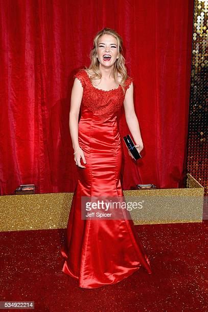 Lorna Fitzgerald attends the British Soap Awards 2016 at Hackney Empire on May 28 2016 in London England
