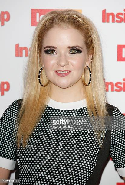 Lorna Fitzgerald attends the Inside Soap Awards at Dstrkt on October 1 2014 in London England
