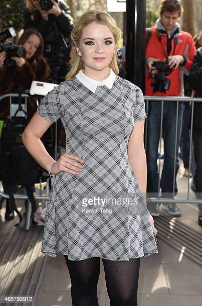 Lorna Fitzgerald attends the TRIC Awards at Grosvenor House Hotel on March 10 2015 in London England