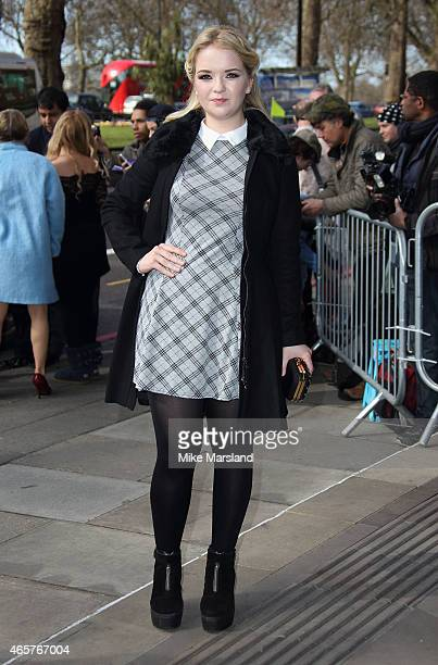 Lorna Fitzgerald attends the TRIC Awards on March 10 2015 in London England