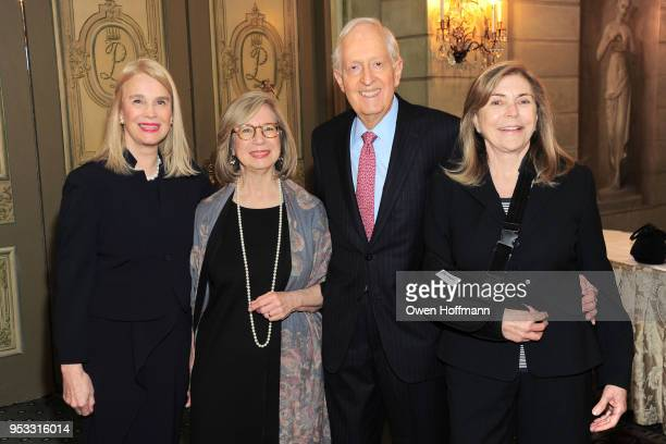 Lorna Hyde Graev Betsy Seidman Charles Marsden and Marilyn Marsden attends Fountain House Symposium and Luncheon at The Pierre Hotel on April 30 2018...