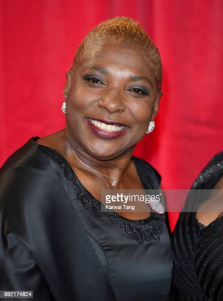 Lorna Laidlaw attends the British Soap Awards at The Lowry Theatre on June 3 2017 in Manchester England