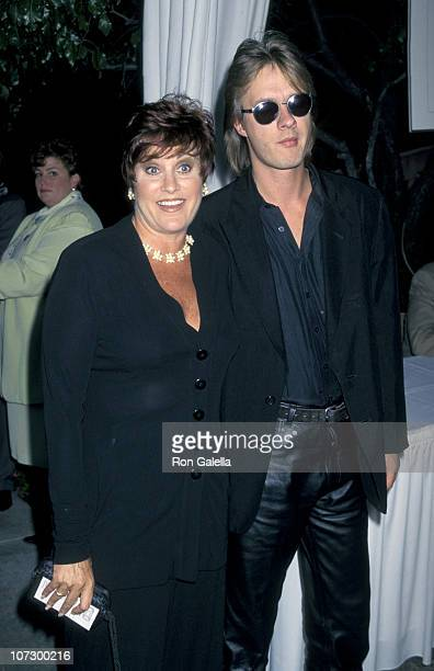 Lorna Luft and Colin Freeman during Cocktail Party for 49th Annual Primetime Emmy Awards Nominees at Westwood Marquis Hotel in Westwood California...