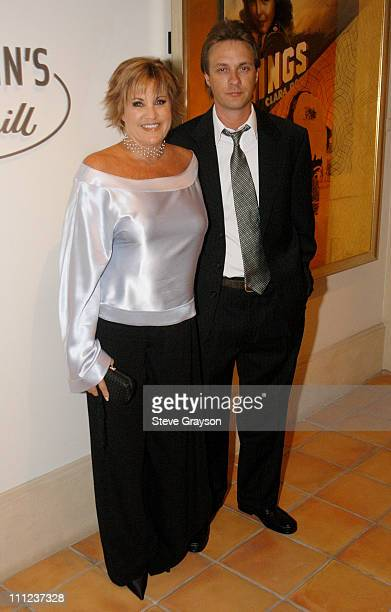 Lorna Luft and Colin Freeman during Feinstein's at The Cinegrill at The Cinegrill at The Roosevelt Hotel in Hollywood California United States
