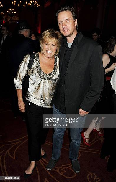 Lorna Luft and Colin R Freeman attend an after party following press night of Lend Me A Tenor The Musical at 8 Northumberland on June 15 2011 in...