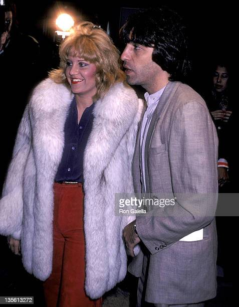 Lorna Luft and husband Jake Hooker attend the Times Square New York City Premiere on October 14 1980 at the Ziegfeld Theatre in New York City
