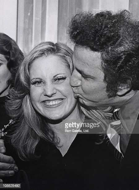 Lorna Luft and Ron Galella during Christine Helm's Go for Broke House Party at Christine Helm's House Party in New York City New York United States