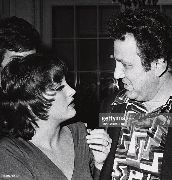 Lorna Luft and Ron Galella during Lorna Luft's Opening October 9 1972 at St Regis La Maisonette in New York City New York United States