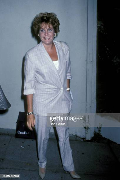 Lorna Luft during Lorna Luft Sighting at Spago's Restaurant in Hollywood June 21 1986 at Spago's in West Hollywood California United States