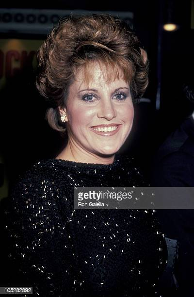Lorna Luft during 'Rocky IV' Los Angeles Premiere at Westwood Village Theater in Los Angeles California United States