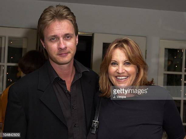 Lorna Luft husband Colin Freeman during Karma A Showing of 5 of India's Top Designers at Private Home in Beverly Hills California United States